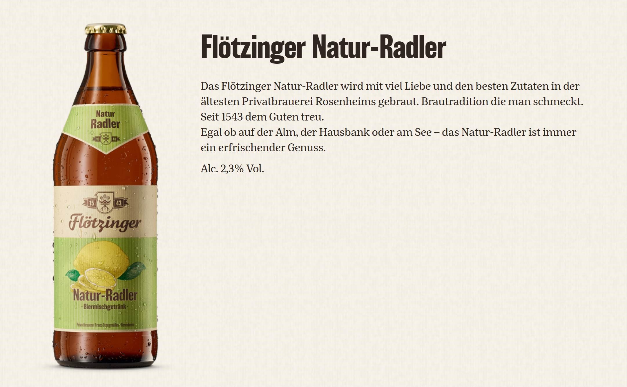Flötzinger Radler